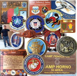 Military & Government Agency Wall Plaques & Signs