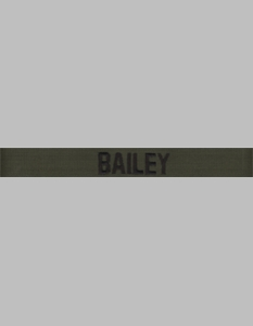Army OD Green Name Tapes