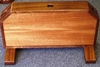 Quarterdeck Wood Flag Box