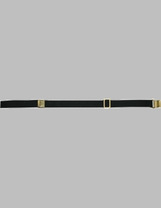 "Rifle Sling Black Web 1.1/4"" with Brass"