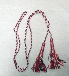Red White & Blue Flag Cord & Tassel