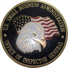 Small Business Administration Wall & Podium Plaques hand Carved Mahogony