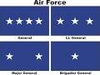 U.S. Air Force General Officer Flags