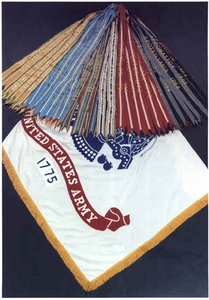 U.S. Army Campaign Battle Streamers Set