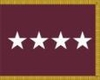 U.S. Army Medical Department General Flag (4 Star)