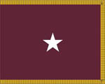 U.S. Army Medical Department General Officer Flags (1 Star)
