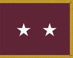 U.S. Army Medical Department Major General Flag (2 Star)