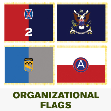 U.S. Army Organizational Flags (Mil-Spec) Various branches