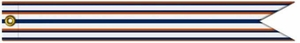 U.S. Coast Guard D.O.T. Outstanding Unit Award Streamer