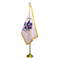 U.S. Coast Guard Indoor Flag Presentation Set