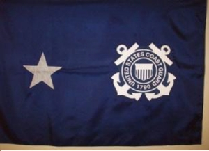U.S. Coast Guard Rear Admiral Flag (1 Star)