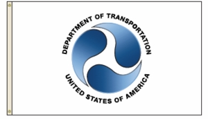 U.S. Department Of Transportation Flag