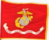 U.S. Govt Spec Marine Corps Battle Standard & Organizational Flags