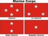 U.S. Marine Corps General Officer Flags
