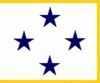 U.S. Navy Admiral 4 Star Restricted)) Flags