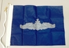 U.S. Navy Enlisted Surface Warfare Pennant (Silver)