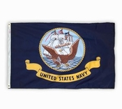 U.S. Navy Outdoor Polyester Flags (Various Sizes)