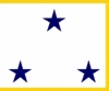 U.S. Navy Vice Admiral 3 Star (Restricted) Flags