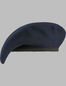 Army Uniform Fitted Beret with Nylon Sweatband (Various Colors)
