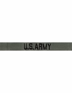 Uniform Name Tapes
