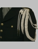 Uniform Shoulder Cord w/Double Braid & Double Knot (Various Colors)