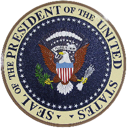 US Presidential Seal Wall & Podium Plaque