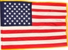 "USA 4'4"" x 5'6"" Rayon Ceremonial Flag (G-Spec)"