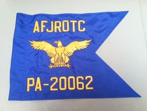 USAF JROTC Guidon Regulation Size