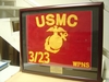 "USMC Framed Guidon 15"" x 22"" Medium"