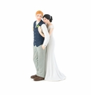 A Sweet Embrace Cake Topper