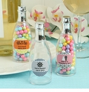Acrylic Personalized Champagne Bottle Favor