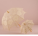 Antiqued Battenburg Lace Parasol