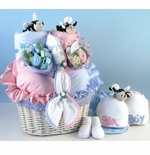 Bee...utiful Baby Basket Gift for Twins