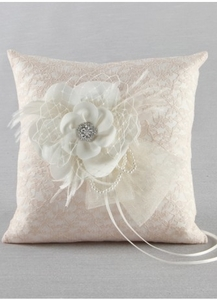 Bianca Wedding Ring Pillow