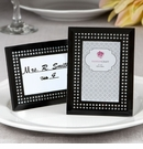 Black Frosted Glass Picture Frame