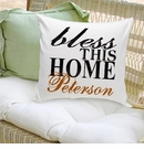 Bless This Home Personalized Pillow
