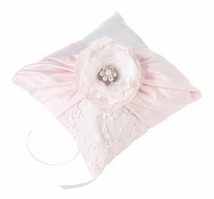 Blush Pink Ring Pillow