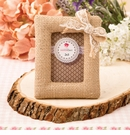 Burlap Picture Frame / Placecard Holder