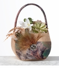 Camouflage Flower Girl Basket