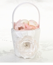 Chic & Shabby Flower Girl Basket