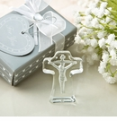 Choice Crystal Cross with Deep Etch of Jesus