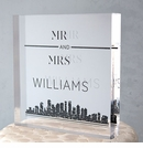 City Style Personalized Cake Topper