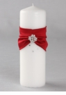 Claret Celebration Pillar Candle