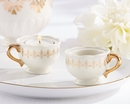 Classic Gold Teacups Tealight Holder (Set of 4)