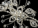 Crystal Bridal Headband with Side Accent