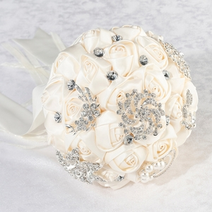 Crystal Flower Wedding Bouquet