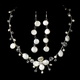 Dainty Keshi Pearl Touch Necklace Earring Set