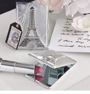 Eiffel Tower Design Compact Mirror