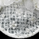 Elaborate Ivory Flower Russian Tulle Pearl Bridal Hair Cap Clip