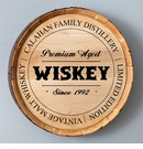 Family Distillery Whiskey Barrel Sign